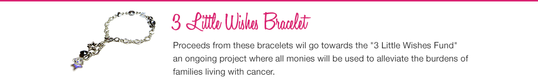 3 Little Wishes Bracelet