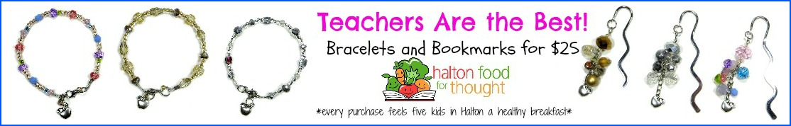 Teachers are the best - Bookmarks and Bracelets